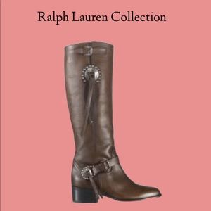 Ralph Lauren Collection NWT boots.size 7